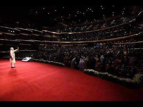 PM Modi addresses community programme in Dubai