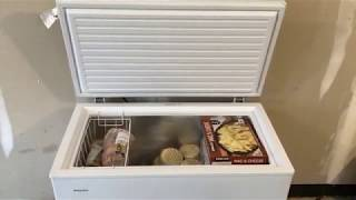 "Setting up ""HotPoint"" Chest Freezer from LOWES - Review! ($179)"