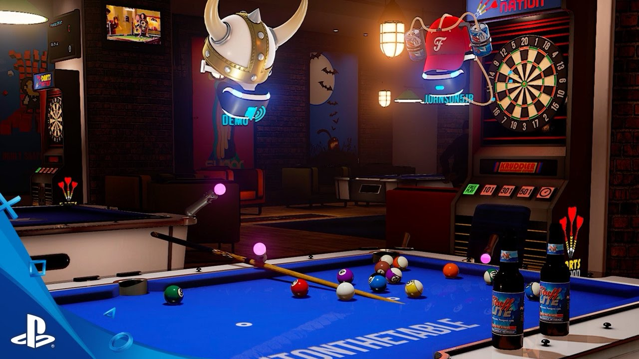 Good Times and a Sticky Floor in SportsBarVR, Out October 13 on PS VR