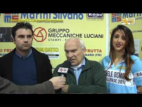 Calzaturieri Montegranaro presentazione stagione 2017 24 02 17