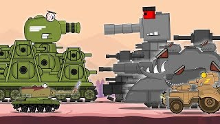 All series KV-44 Soviet monster second part: Cartoons about tanks