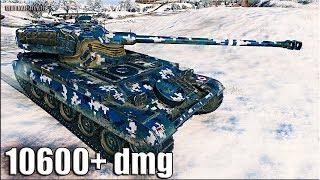 ВПЕРВЫЕ на ЛТ 10600+ dmg Рекорд World of Tanks  amx 13 105 лучший бой
