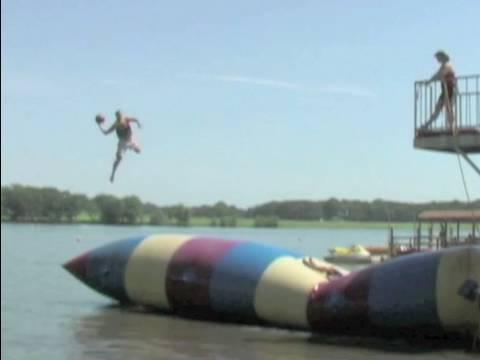 Trick Shot Basketball | Dude Perfect | Summer Camp
