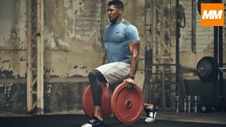 FIGHTING FIT - Anthony Joshua Intensive Boxing Strength & Conditioning Training | Muscle Maximum
