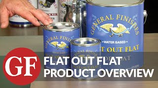 Flat Out Flat | Product Overview | General Finishes