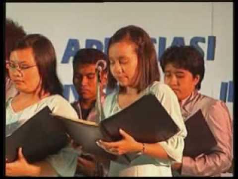 Paduan Suara Paragita UI - Malam Apresiasi Prestasi Mahasiswa UI 2005 Part 1
