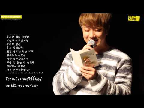 [Thaisub] For Primadonna: Welcome to FTISLAND Studio from Minhwan