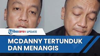 Penampilan Komika McDanny saat Minta Maaf dan Menyesal Telah Hina Habib Rizieq, Tertunduk & Menangis