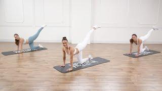 การออกกำลังกายลดแรงกระแทกก้นและหน้าท้องแบบ Victoria Sport 20 นาที