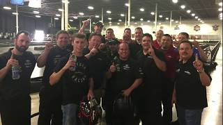 Ben Rhodes took on his No 27 Safelite AutoGlass team and the