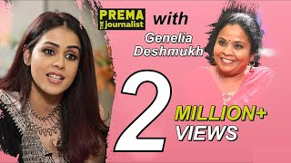 Genelia Deshmukh Super Special Interview with Prema The Journalist || Full Interview - #14