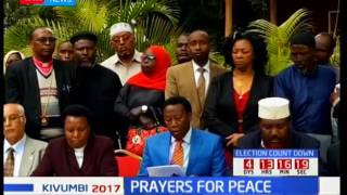 Religious leaders urge security forces to serve Kenyans fairly without fear or favour