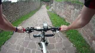 preview picture of video 'Klingenmünster - 2 Burgen Tour'