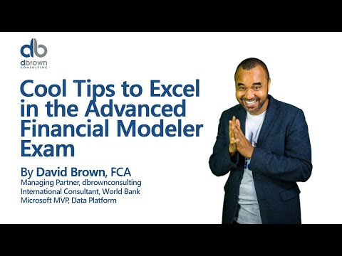 Cool Tips to Excel in the Advanced Financial Modeler Exam ...