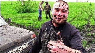 Нива шевроле и патриот уаз в грязь