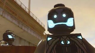 "Lego Marvels Avengers Break into Ulysses Klaue's Hideout ""Avengers Age of Ultron"""