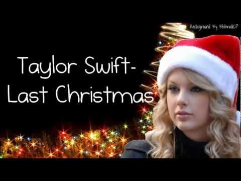 Taylor swift  last christmas  lyrics