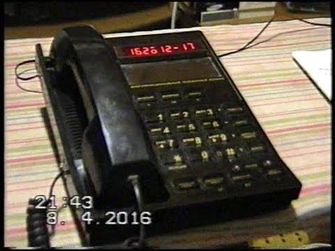 Телефон Русь 28 Соната (Intelcon 4008) Обзор (Часть 1)