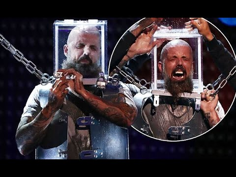 Britain's Got Talent escapologist Matt Johnson'nearly dies' in act (видео)