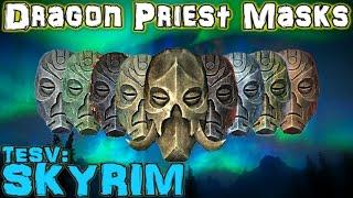 TESV: Skyrim - Dragon Priest Masks Guide (Vanilla)