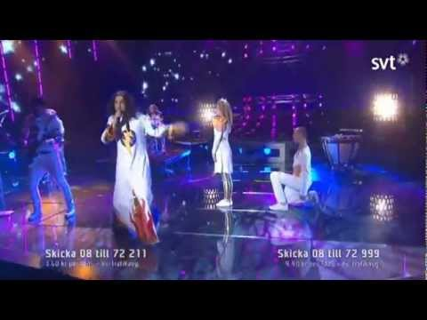 Thomas Di Leva - Ge aldrig upp (Never give up) (Melodifestivalen 2012)
