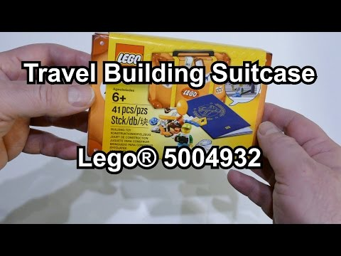 LEGO Travel Building Suitcase (Set 5004932 Review deutsch) 4K