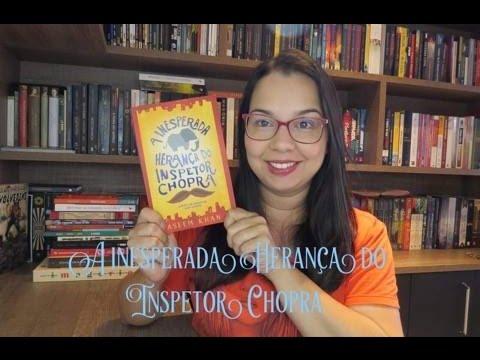 A inesperada Herança do Inspetor Chopra de Vaseem Khan | Editora Morro Branco| Leitura Mania