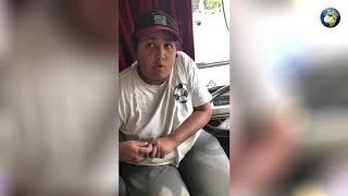 Юный водитель автобуса в Ростове