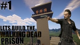 Download Lets Build The Walking Dead Prison Guard Tower Ep1