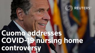 Cuomo responds to  revelations his admin withheld true scope of nursing home deaths
