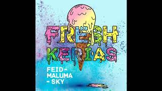 Feid, Maluma & Sky   FRESH KERIAS (Audio)