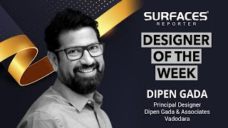 Designer of the Week Dipen Gada, Dipen Gada & Associates , DGA