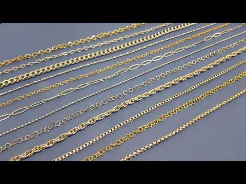 Catene in acciaio inox chirurgico visita www.pietreeminuterie.com
