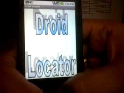 Video of Droid Locator