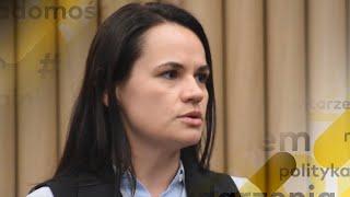 Protesty na Białorusi. Cichanouska dla Onetu: sąd wyda wyroki w sprawie ludobójstwa na Białorusi