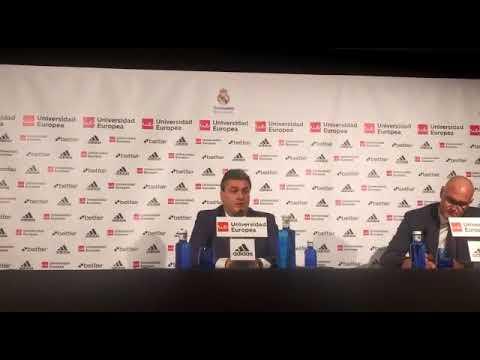 Declaraciones Sergio Valdeolmillos tras derrota ante Real Madrid