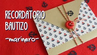 Recordatorio Bautizo - Baptism reminder invitation