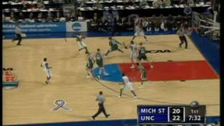 2005 Final Four UNC vs Michigan State