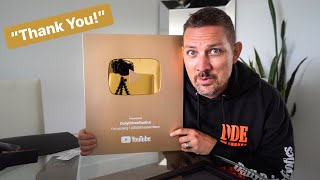 THIS COST ME $1 MILLION & 6 YEARS OF MY LIFE...YOUTUBE'S GOLD PLAY BUTTON!