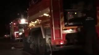 """Пожар в кафе """"Босфор"""" в Хабаровске, 2018 год"""