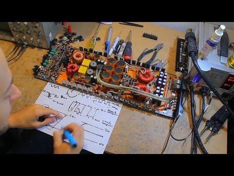 Amplifier repair - How do car amps work?? Part 1