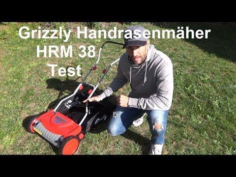 Grizzly Handrasenmäher Spindelmäher HRM 38 im Test und Zusammenbau Montage