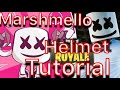 Marshmello Helmet Tutorial