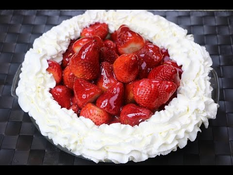 How to Make a Fresh Strawberry Pie (No Gelatin) – Fresh Strawberry Pie Recipe