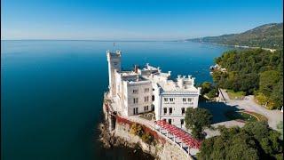 Trieste castello della principessa sissi miramare estate 2017