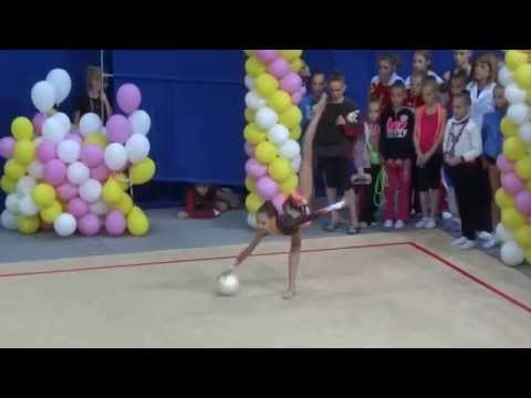 Художественная гимнастика - Трубникова Дарья,