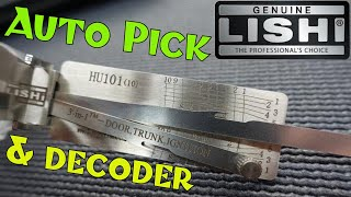 (1340) Review: Lishi HU101 Auto Lock Pick & Decoder