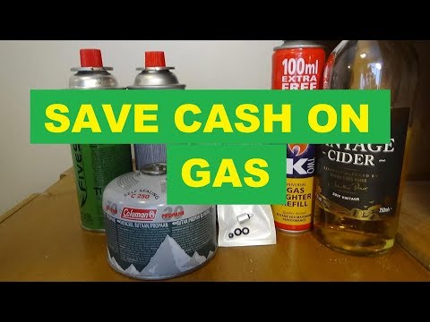 Refill Your Camping Gas Canister