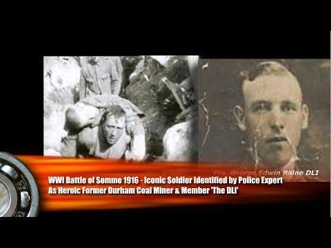 WW1 Battle of the Somme 1916 Identified? Former DLI, Coal Miner
