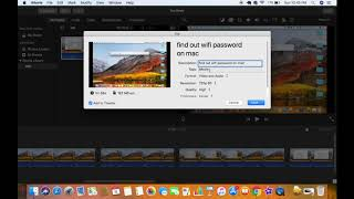 How to Export a Video in iMovie